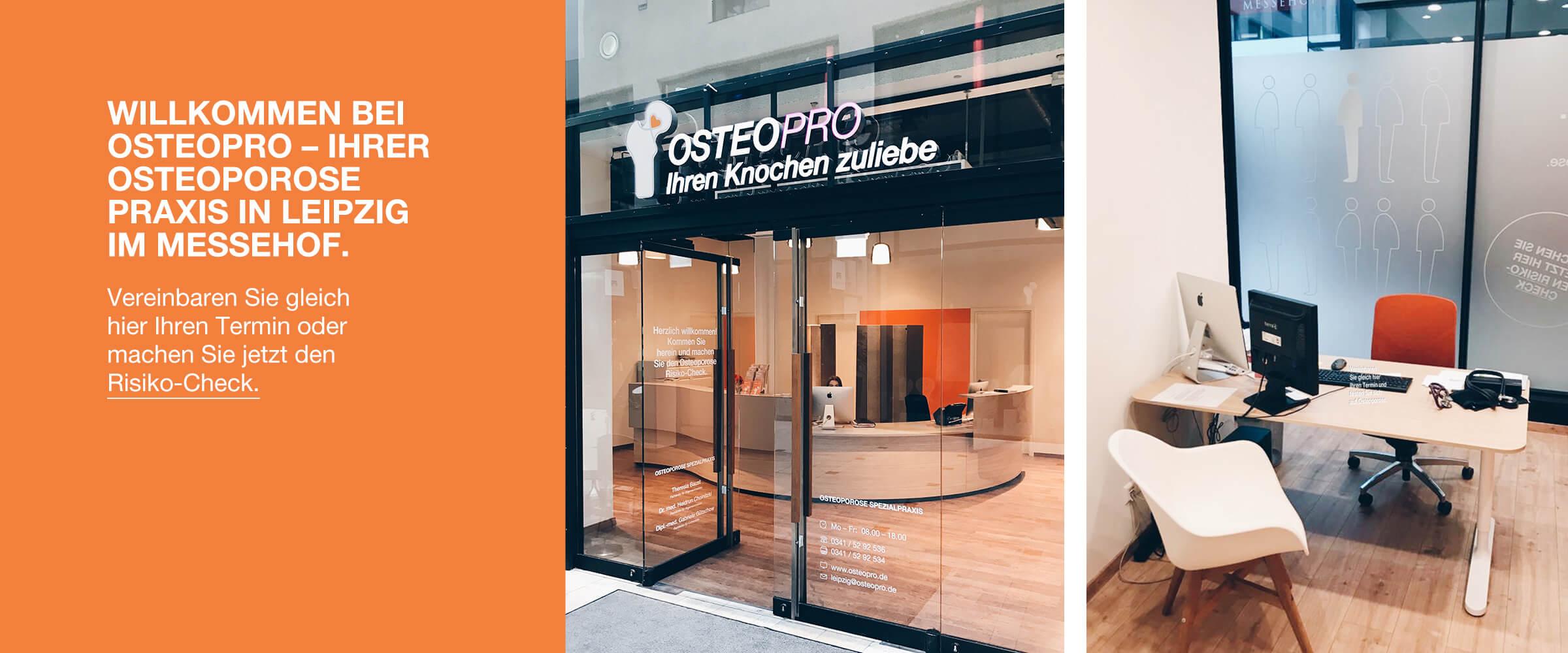 OsteoPro Osteoporose Spezialpraxis Leipzig Messehof